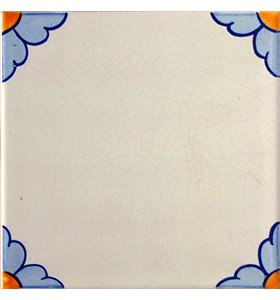 Azulejo 02AS-FLOR15AZ