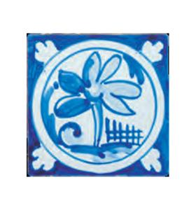 Decorative tile 01AG-OR14